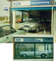 Unterwegs zum Olttimermarkt nach Münster 1981